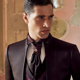 Camicia collo francese cravatta