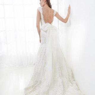 Apito da sposa con scollatura profonda sulla schiena