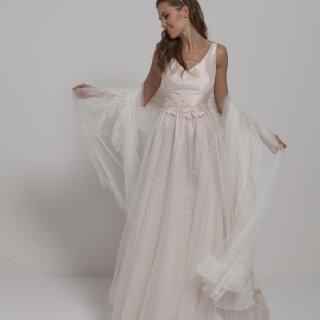 Vestito da sposa gonna tulle
