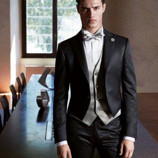 Vestito sposo giacca corta