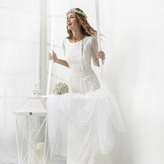 Abito da sposa stile medievale