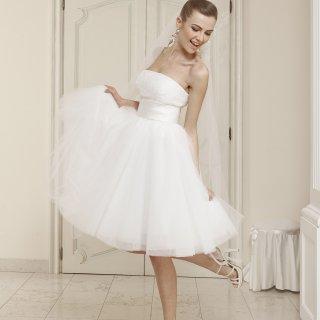 Vestito da sposa stile ballerina